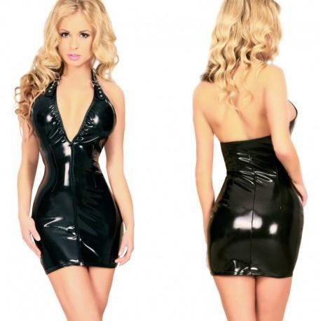 Datex jurkje met nek halter