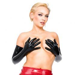 Latex opera gloves