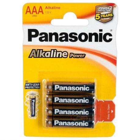Batterij set panasonic AAA 1.5 Volt